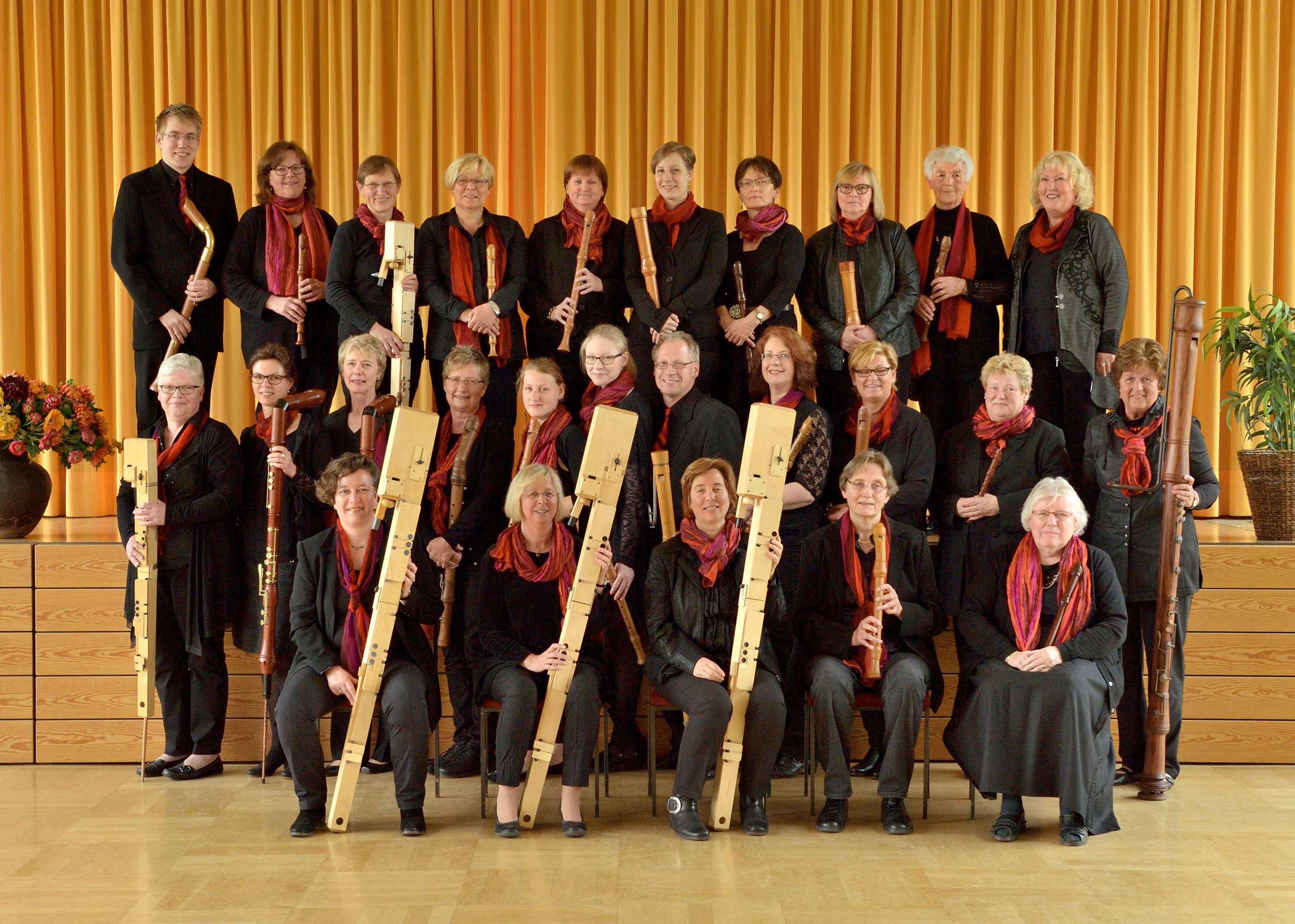 Das Blockflötenensemble Pfiffikus 2015
